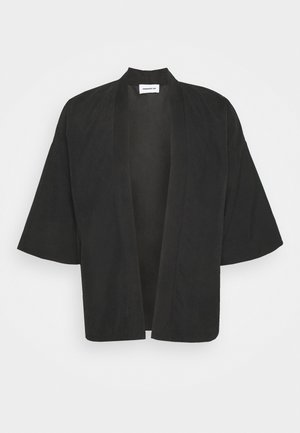 NATURAL KIMO - Cardigan - black