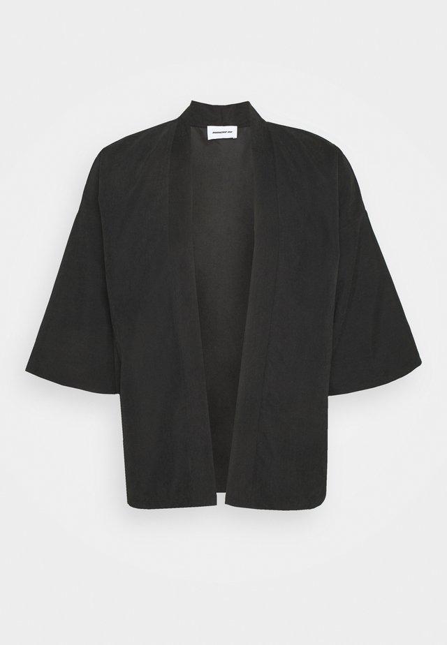 NATURAL KIMO - Cardigan - black