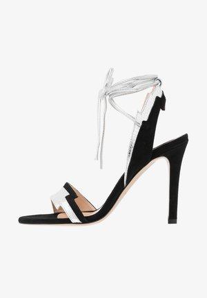 CHIODI DI GAROFANO  - Sandaler med høye hæler - nero limousine