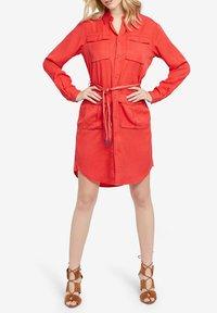 khujo - LEANNA - Shirt dress - red - 1