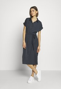ONLY - ONLHANNOVER SHIRT DRESS - Skjortekjole - india ink - 1