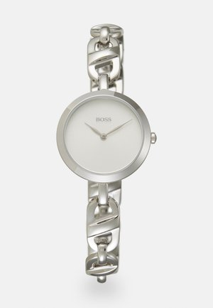 CHAIN - Watch - silver-coloured/white