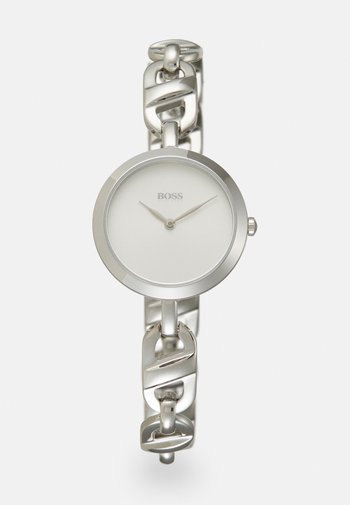 CHAIN - Watch - silver-coloured/white