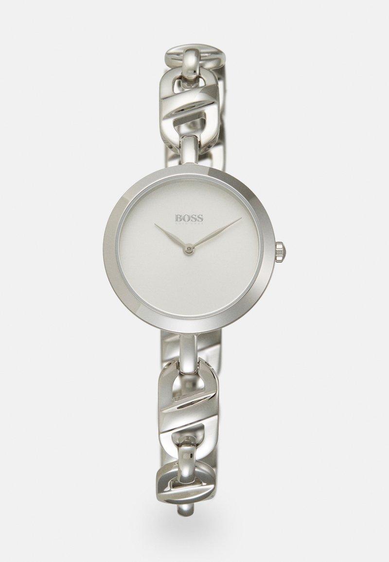 BOSS - CHAIN - Rannekello - silver-coloured/white