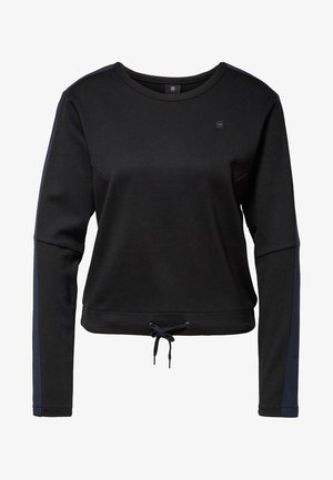 NOSTELLE CROPPED - Pullover - black/blue
