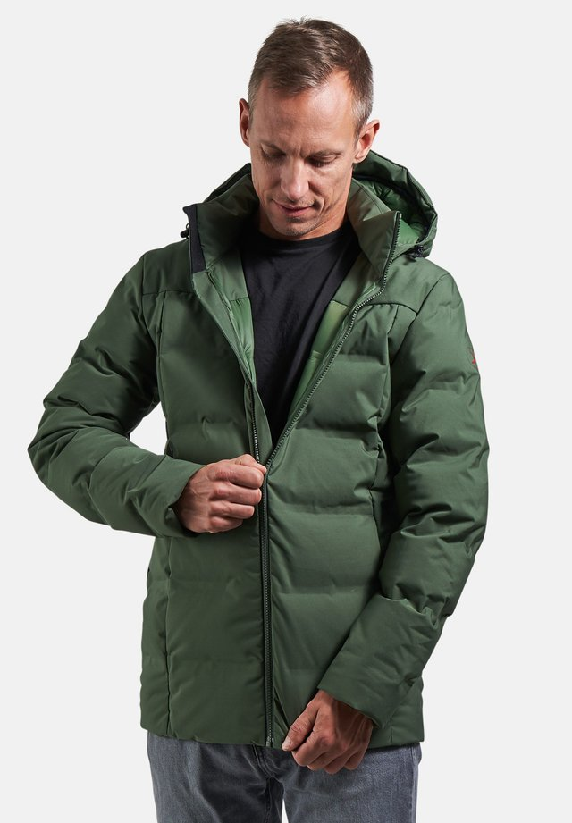AKKARVIK - Down jacket - black forest