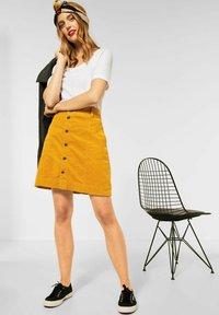 Street One - Mini skirt - gelb - 0