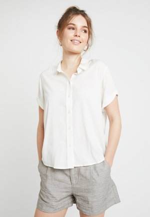 MAJAN - Button-down blouse - clear cream