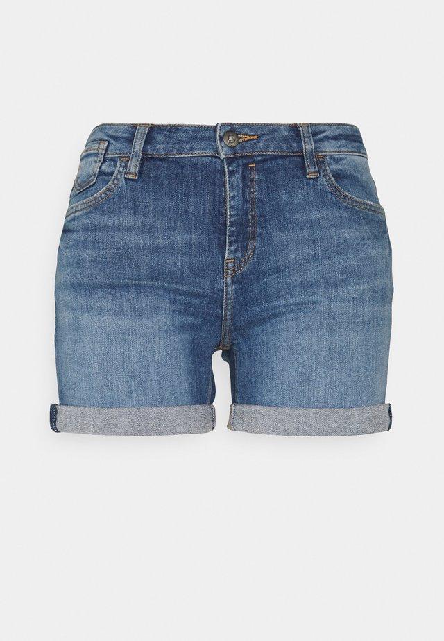 Denim shorts - blue medium