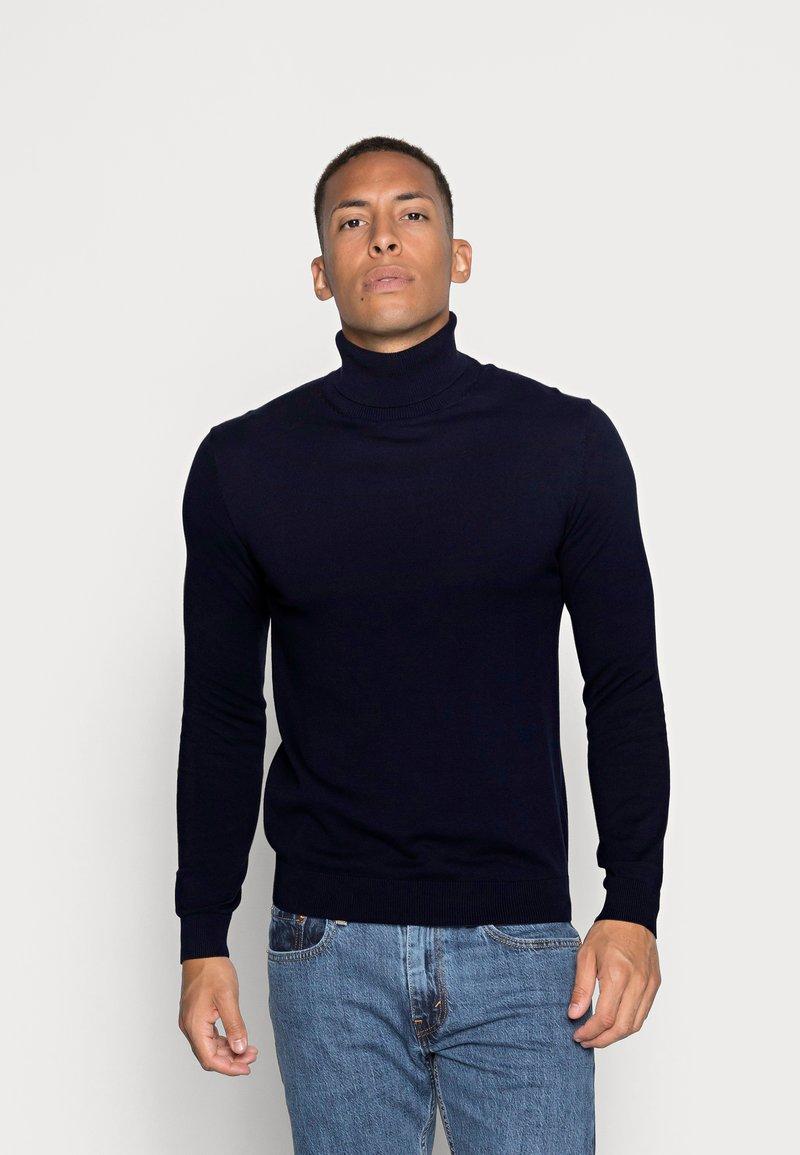 Esprit - ROLLNECK - Sweter - navy