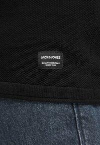 Jack & Jones - JJEHILL CREW NECK - Jumper - black - 3