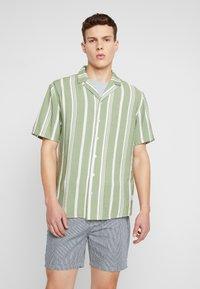 REVOLUTION - STRIPE - Shirt - green - 0
