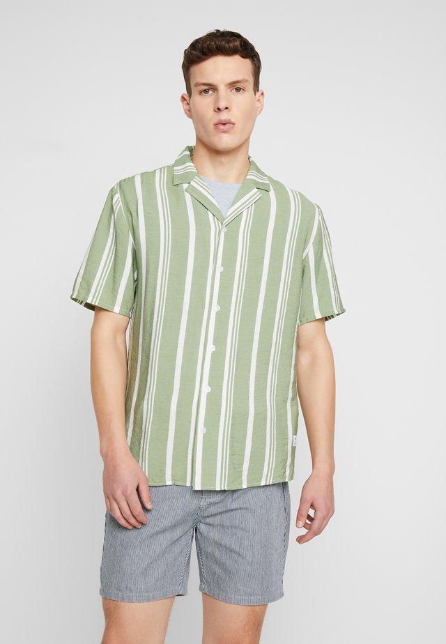 STRIPE - Overhemd - green