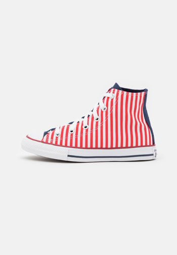 CHUCK TAYLOR ALL STAR AMERICANA UNISEX - High-top trainers - midnight navy/university red/white