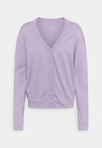 CARDIGAN - Gilet - purple