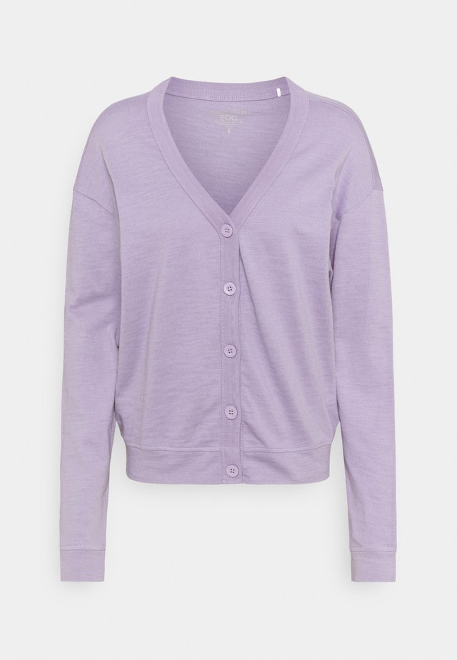 CARDIGAN - Kardigan - purple