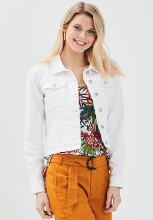 Denim jacket - ecru