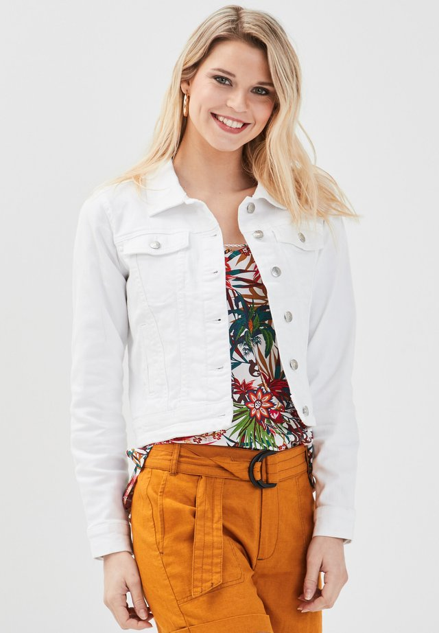 Giacca di jeans - ecru