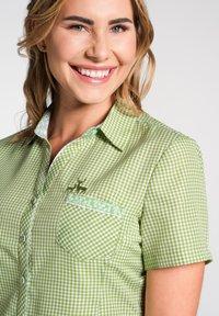 Spieth & Wensky - NEST - Button-down blouse - olive - 2