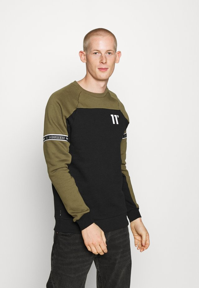 TAPED  - Sweatshirt - khaki