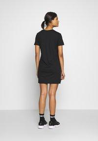 Calvin Klein Jeans - INSTITUTIONAL DRESS - Žerzejové šaty - black - 2
