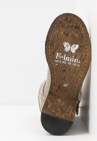 Felmini - GREDO - Cowboy/biker ankle boot - pardo - 6
