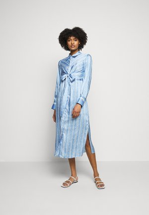 PINETA - Shirt dress - azzurro