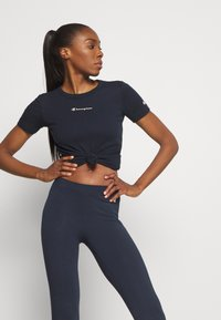 Champion - LEGGINGS LEGACY - Punčochy - dark blue - 3