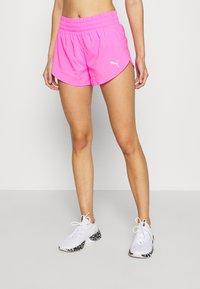 Puma - IGNITE SHORT - Pantalón corto de deporte - luminous pink - 0