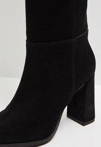 faina - Laarzen met hoge hak - black - 6
