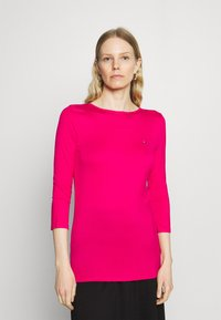 Tommy Hilfiger - BOAT NECK TEE 3/4 - Long sleeved top - bright jewel - 0