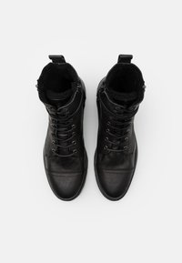 Walk London - STIGMA BOOT - Lace-up ankle boots - black - 5