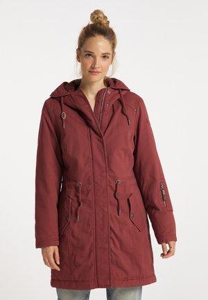 Winter coat - kupferrosa