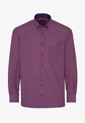 COMFORT FIT - Overhemd - rot/blau