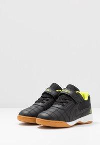 Kappa - FURBO UNISEX - Sports shoes - black/yellow - 3