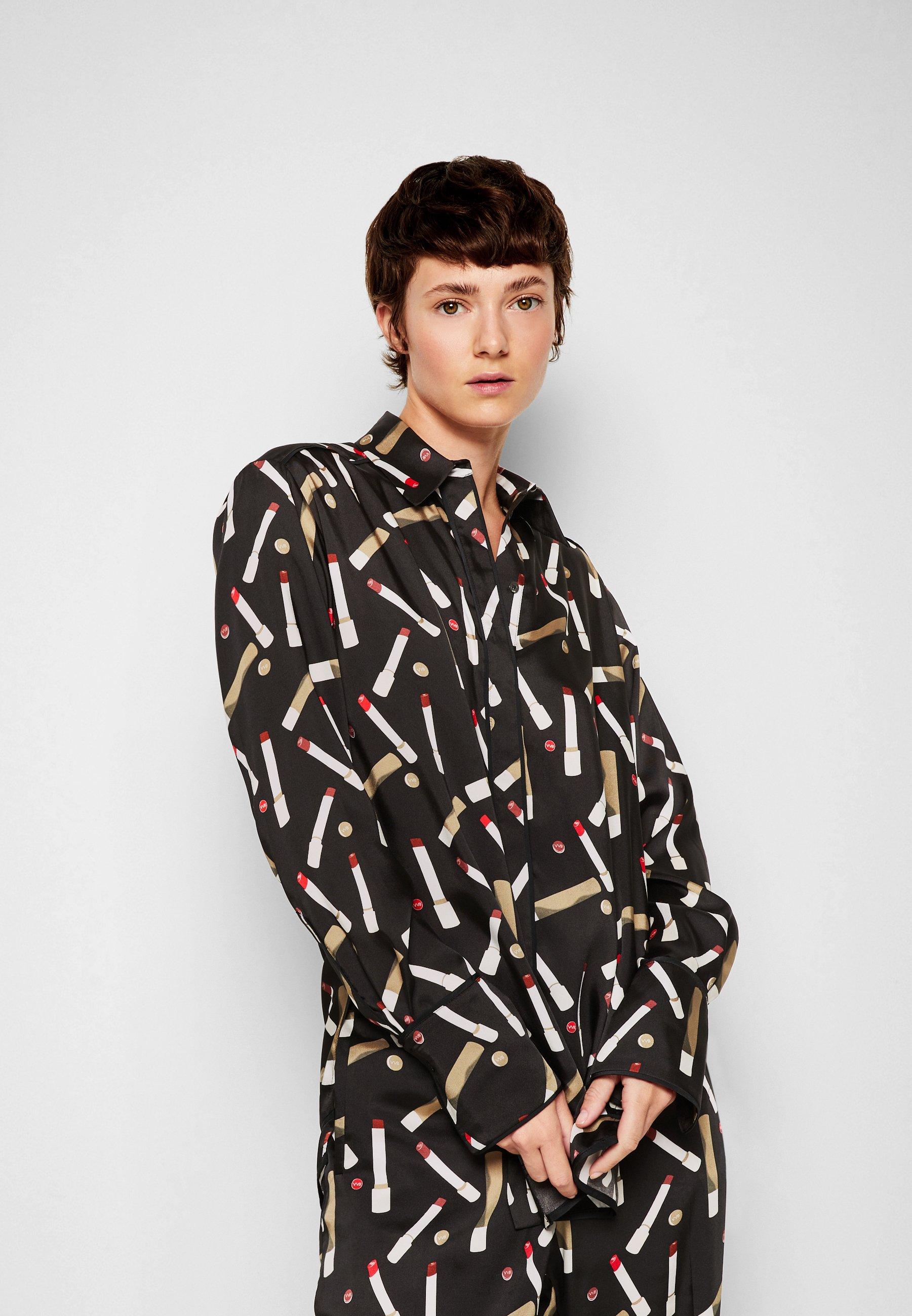 Damer PIPING DETAIL SHIRT - Skjortebluser