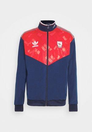 Training jacket - collegiate navy/red/white
