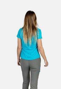 IZAS - T-shirt imprimé - turquoise - 2