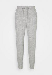 Calvin Klein Underwear - COZY LOUNGE JOGGER - Pyjama bottoms - grey heather - 0