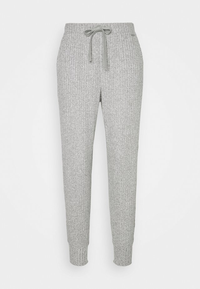 COZY LOUNGE JOGGER - Pyjamahousut/-shortsit - grey heather