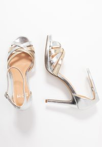 Steven New York - CACY - High heeled sandals - silver/gold - 3