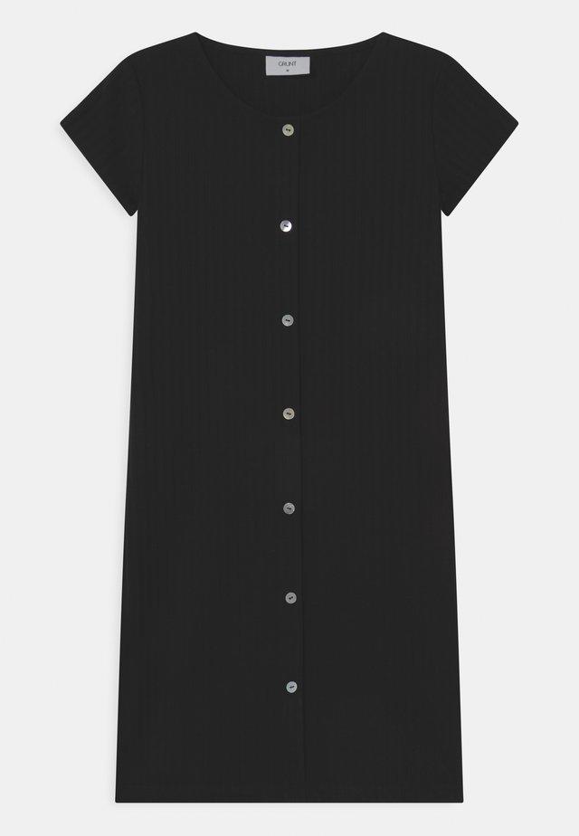 HEY  - Žerzejové šaty - black