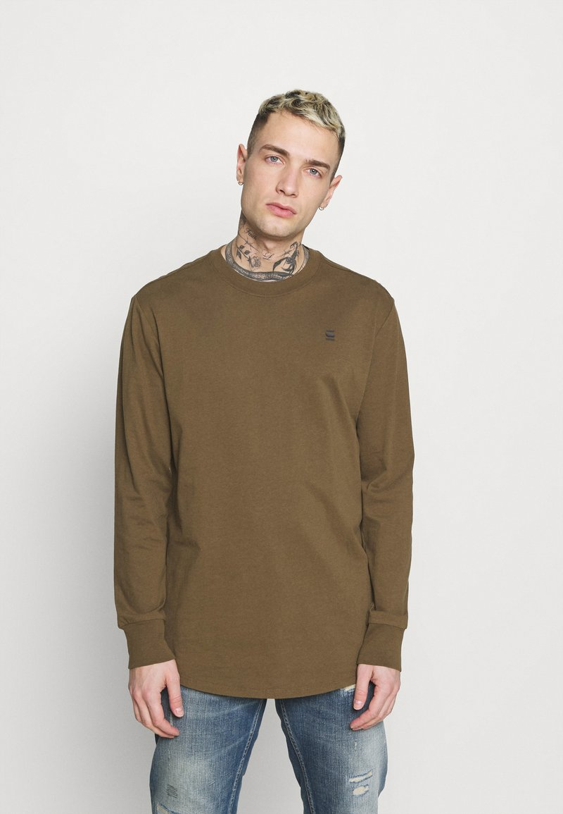 G-Star - LASH R T L\S - Long sleeved top - wild olive