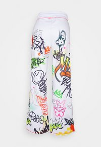 Jaded London - WIDE LEG GRAFFITI PRINT - Tracksuit bottoms - multi - 1