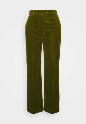 SUIT PANTS - Stoffhose - dark green