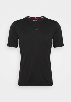MOTION FLAG TRAINING TEE - T-shirt basic - black