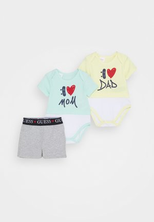 SET BODY AND SHORTS - Body - mint multi
