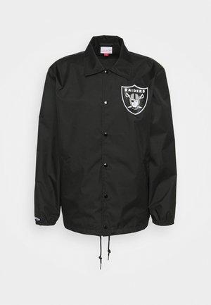 NFL OAKLAND RAIDERS COACHES - Equipación de clubes - black