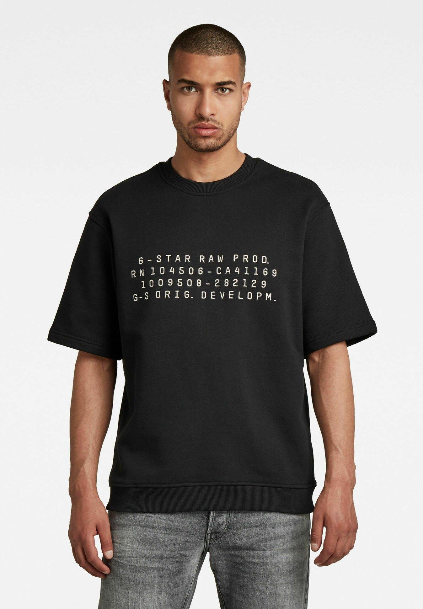 Homme EMBRO TEXT - T-shirt imprimé