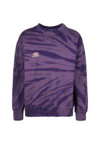 Umbro - UMBRO CALIDOSCOPE HERREN - Sweatshirt - dusk / heliotrope / gelato / aqua mint - 0